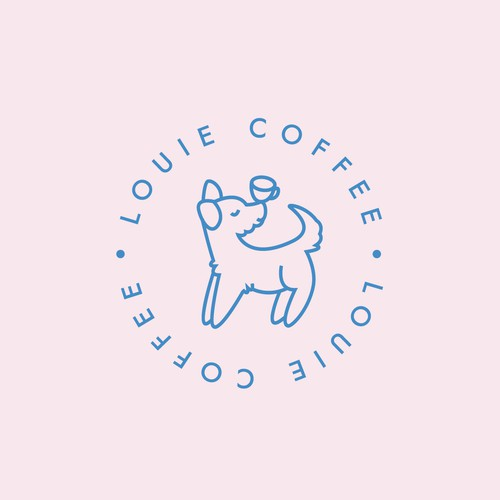 Louie Coffee Logo
