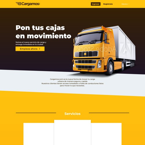 Trucking Web Page Draft