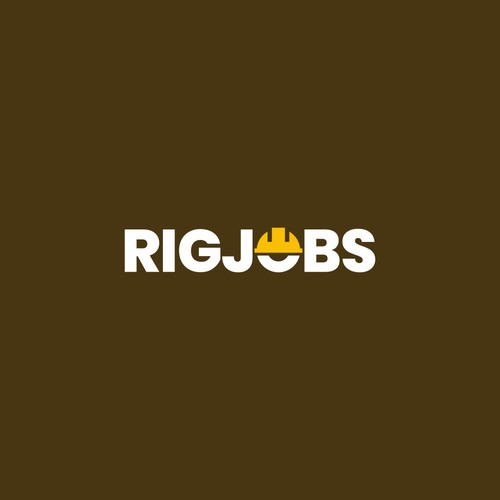 Bold logo for job marketplace in oil & gas industry: RigJobs