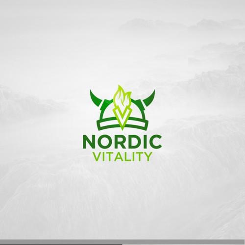 Bold logo for fitness vitality