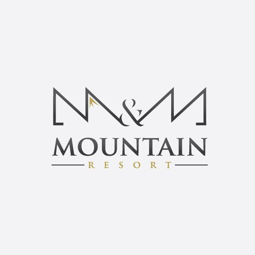Stylish & Elegant Logo for a Resort Hotel