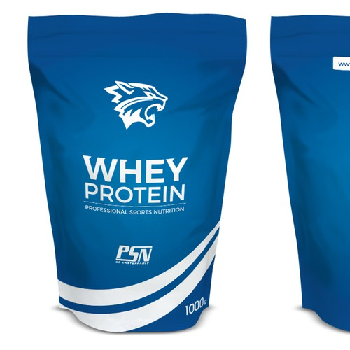 Protein Packaging Design for Professional Sports Nutrition