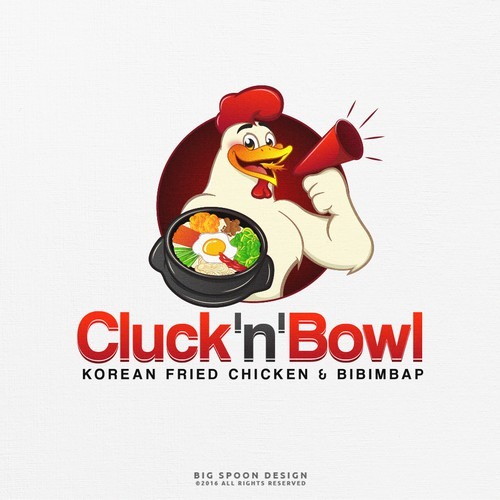Logo Proposal for Cluck'n'bowl