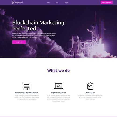 Home for a Blockchain Company