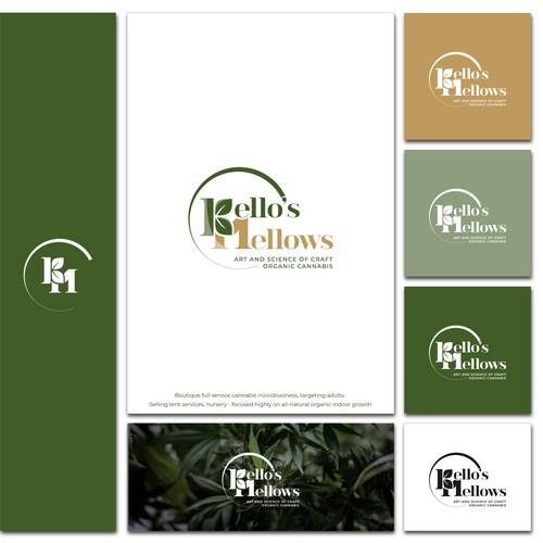 Craft Organic Cannabis Logo targeting Sophisticated Home Growers