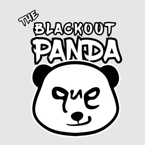 logo panda blackout dj