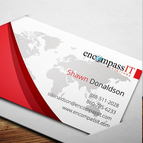Business Card for IT MSP
