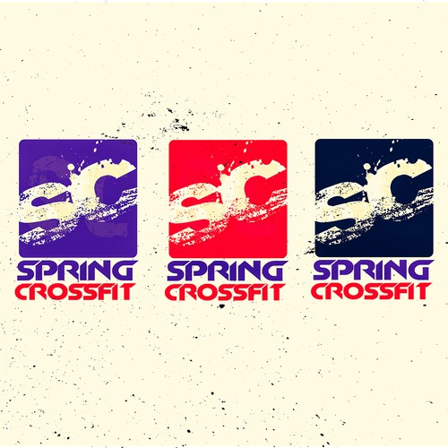 New logo for Spring Crossfit