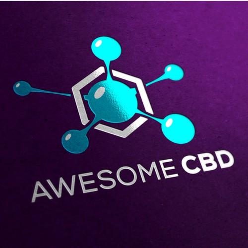 Logo for awesome CBD
