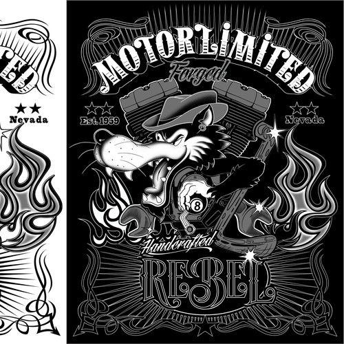 """Motor Limited"" illustratio."