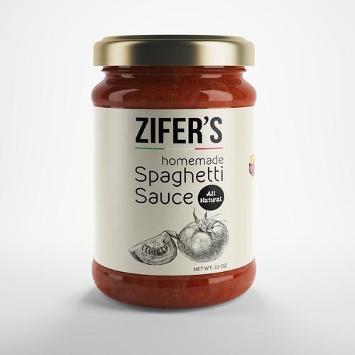 Label idea for tomato sauce