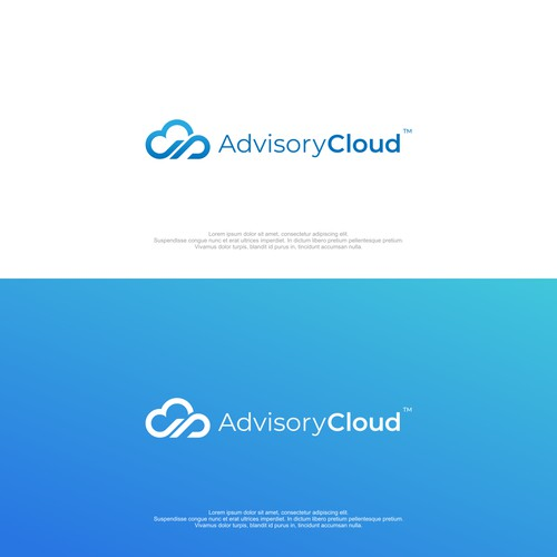 logo concept for cloud