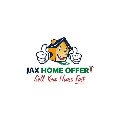 playful & attractive logo for online home offers