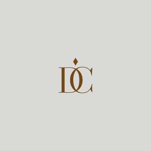 Logo for DC. Luxury bedding.