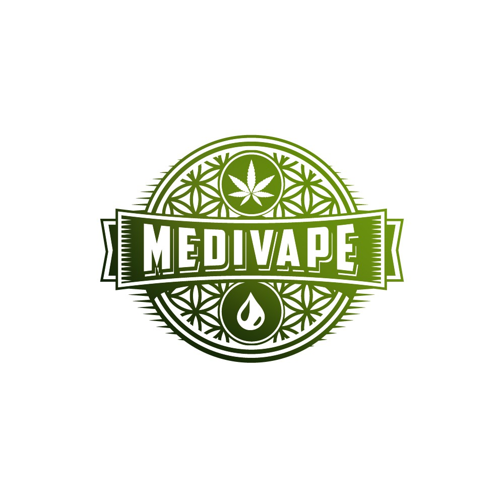 Medical Marijuana company looking for  CBD  E-Juice Vape logo