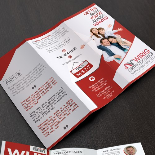 Create our company Brochure for events and marketing.