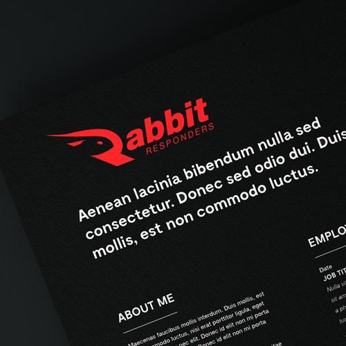 Logo Design for Rabbit Responders
