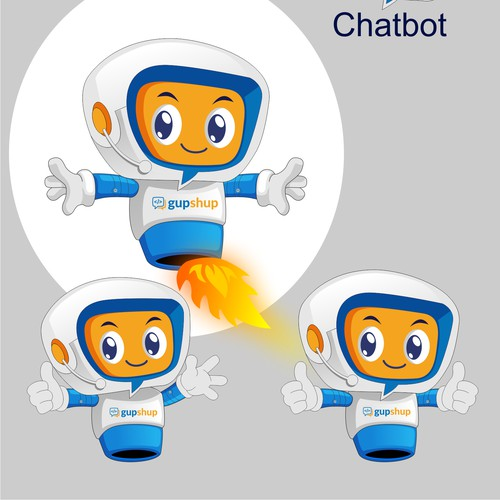 Design - Brand Mascot (Gupshup)