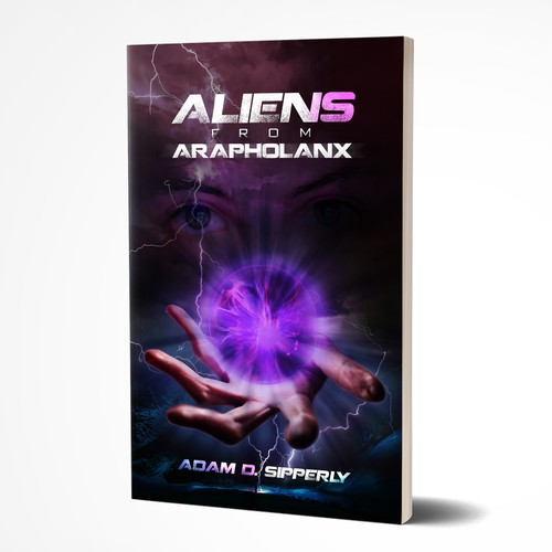 Book Cover - Aliens From Arapholanx