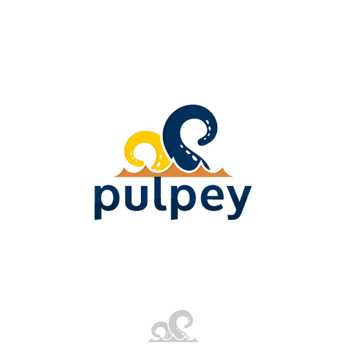 tentacle P for pulpey logo