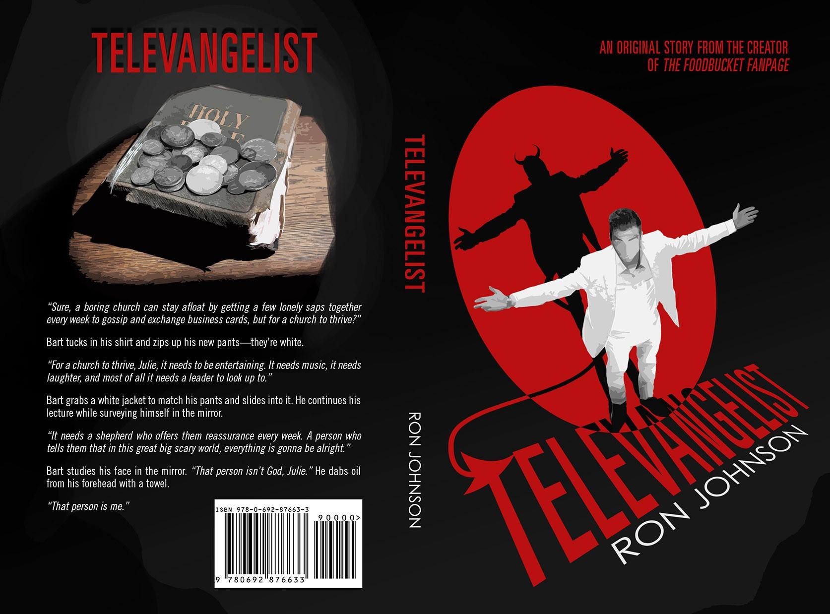Televangelist - A unique book needs unique art...it needs YOU!