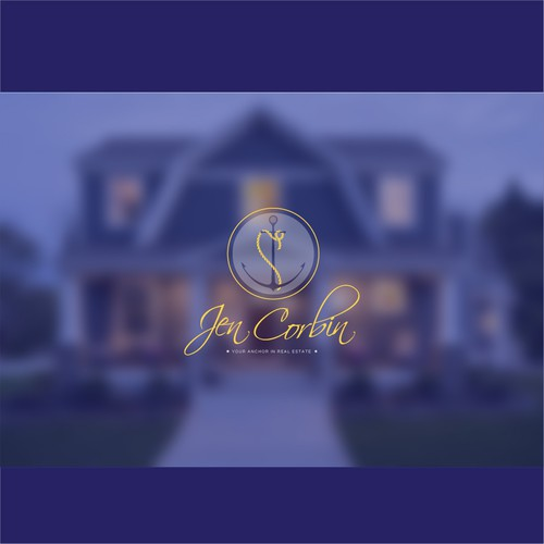 Simple sophisticated brand for real estate brokerage
