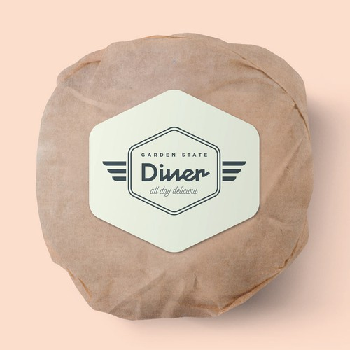 Retro Diner Branding