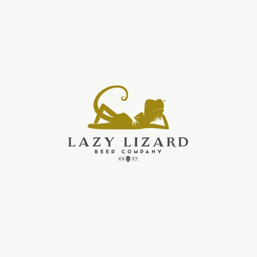 Elegant logo for Lazy Lizard