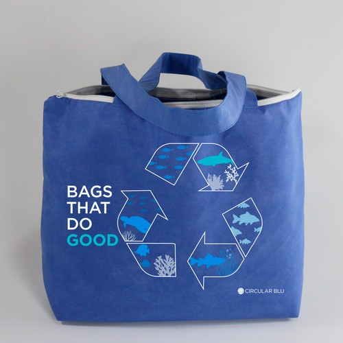Illustration for ecological bag