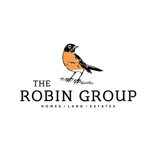 Logo Concept for The Robin Group