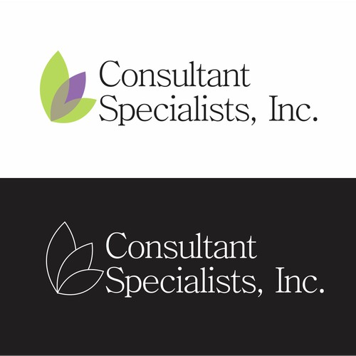 Very Simple, Traditional logo for Consulant Specialists Inc. GUARANTEED and Blind.