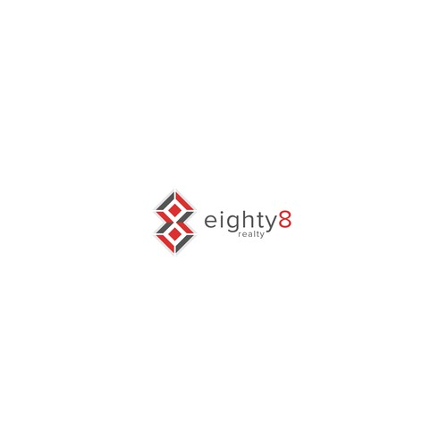 Real estate logo for eighty8realty