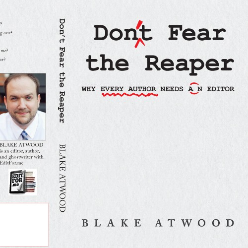 Don't Fear the Reaper cover design