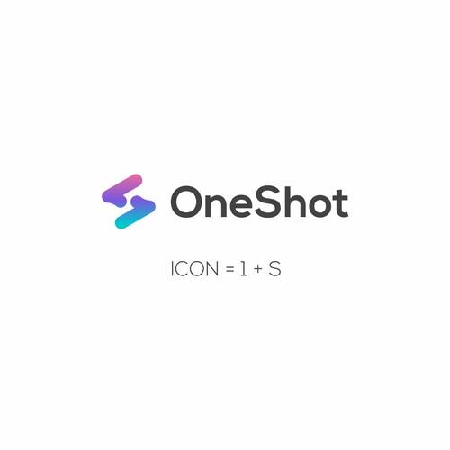 One shot logo