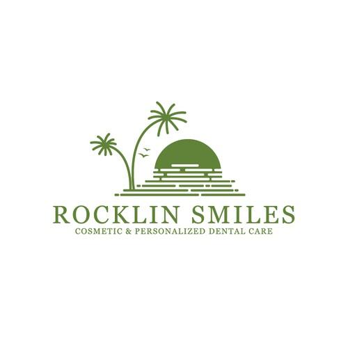 Logo design of Rocklin Smiles