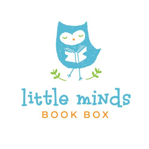 Design a fun, playful logo for a children's book subscription service