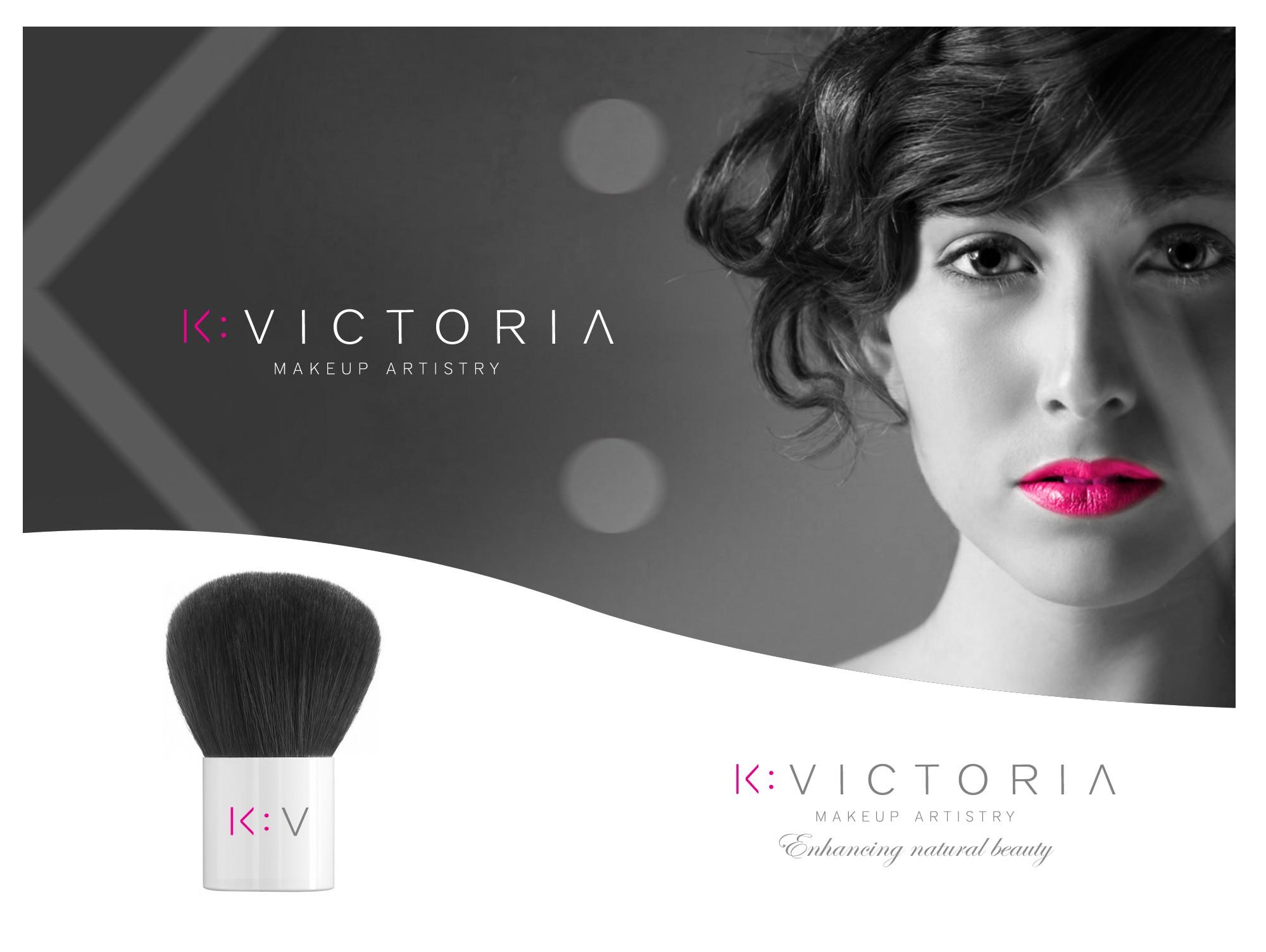 K Victoria Makeup Artistry needs a new logo