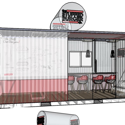 20Ft Container / Restaurant