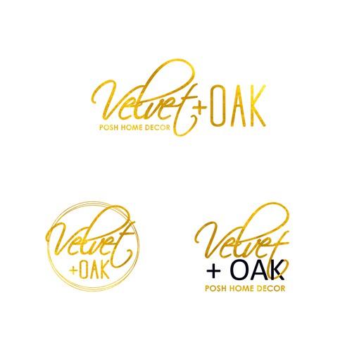 Velvet + Oak (Posh Home Decor)
