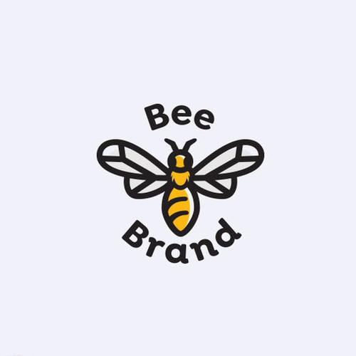 Logo Bee Brand.