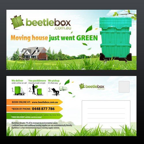 Create the next postcard or flyer for BBox