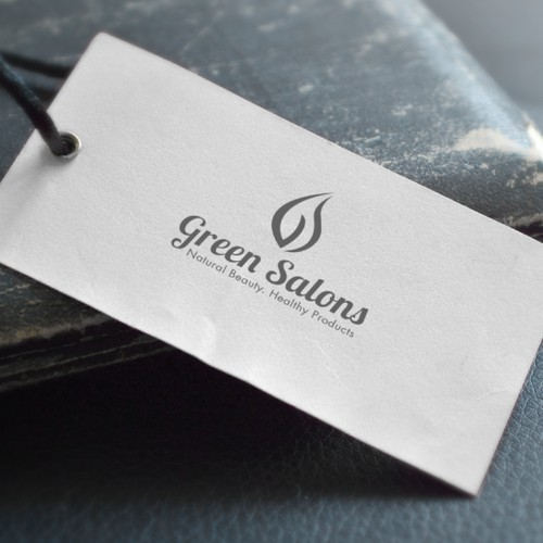 Logo Conept for Green Salons