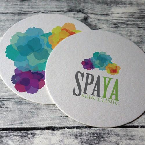 Create a logo for SPAYA skin clinic in San Francisco
