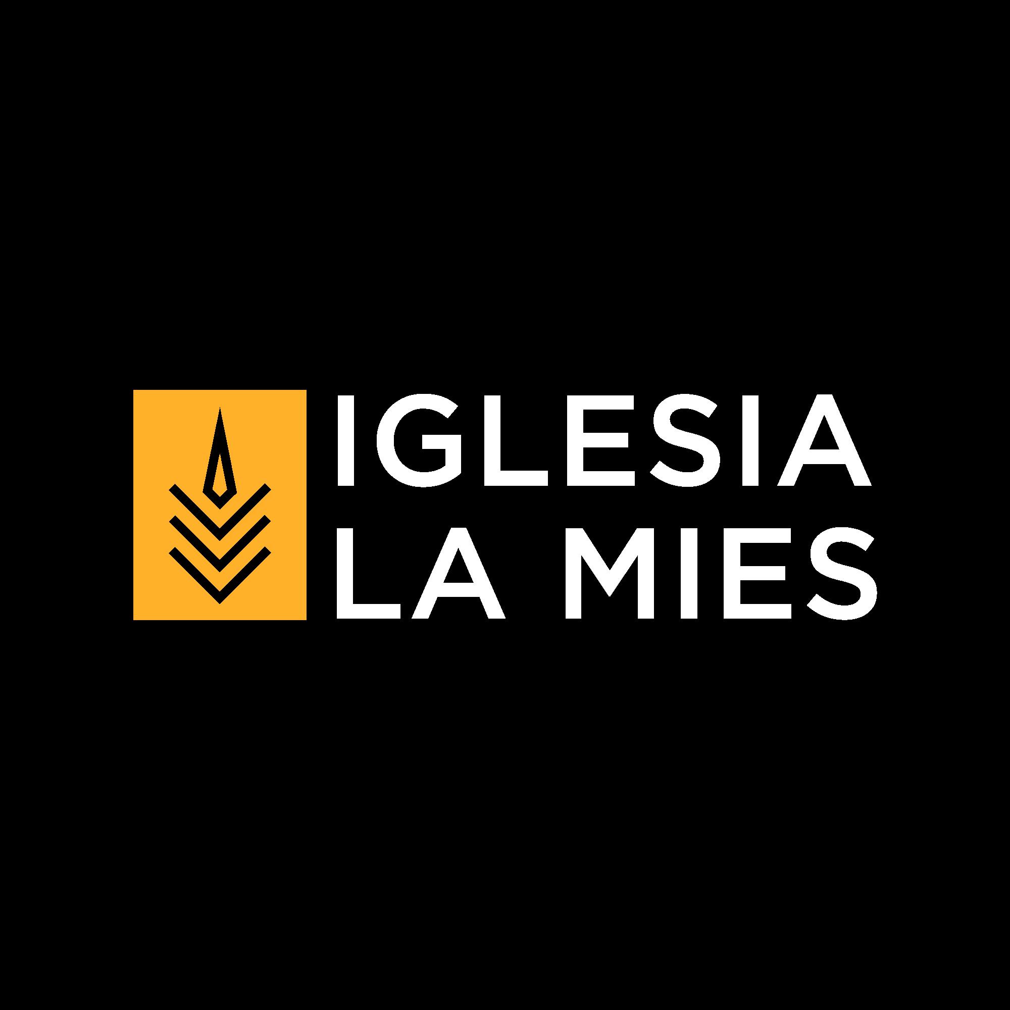 Design a trendy logo for La Mies church (Harvest church)