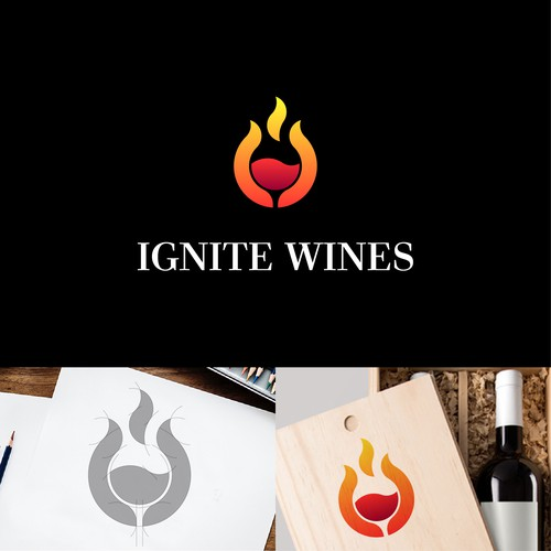 logo for wine