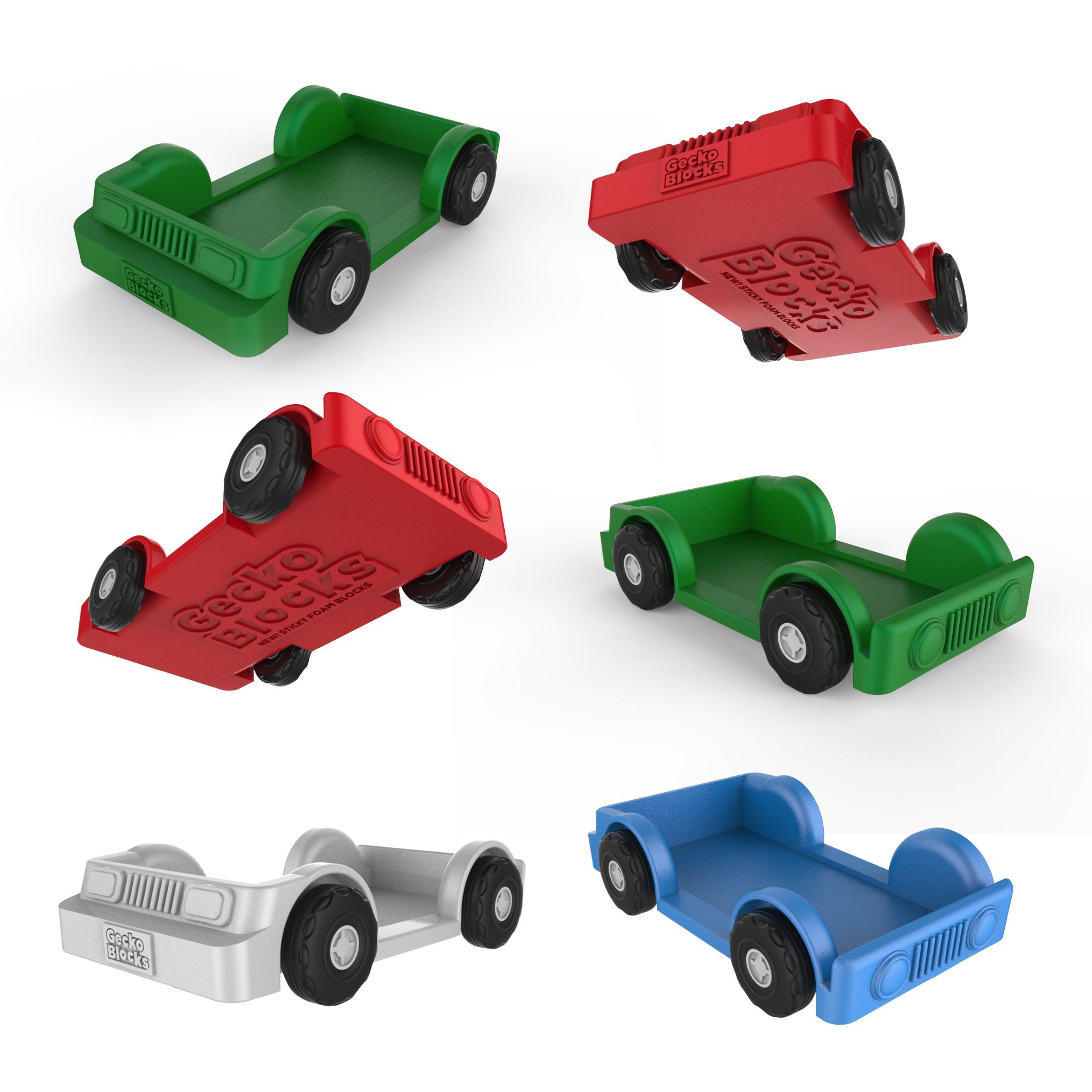 Gecko Blocks concept truck ( FINALIZING  3D DETAILS )