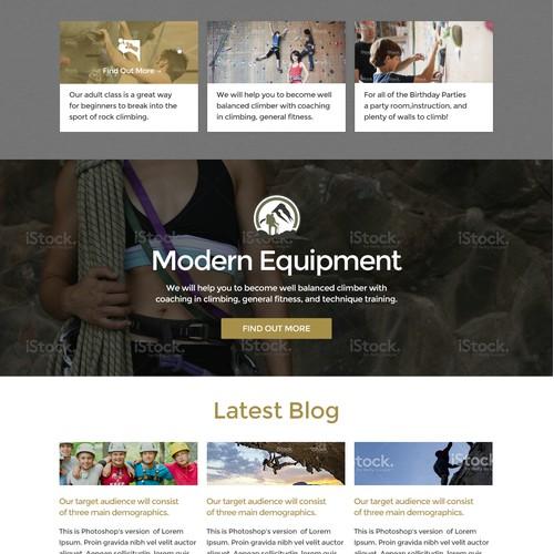Basecamp Climbing Website