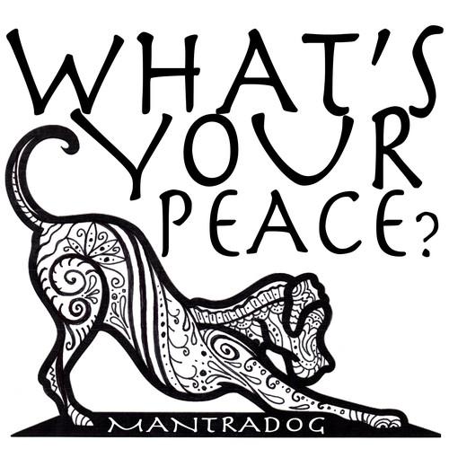 Mantradog T-Shirt design