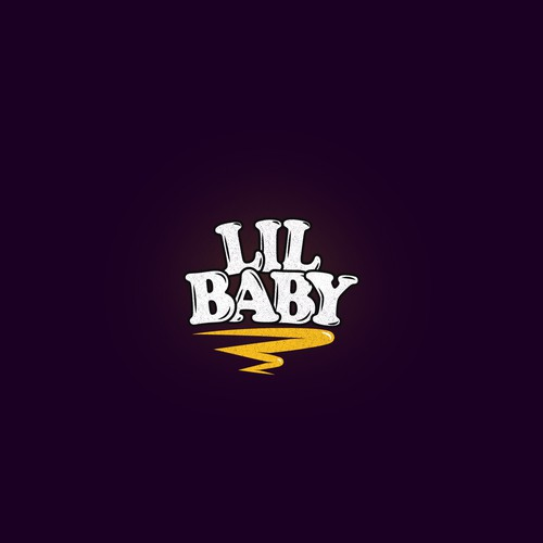 "Logo for a rapper named ""LIL BABY"""