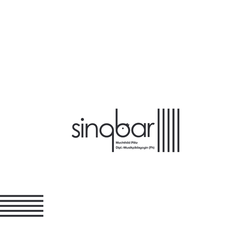 Create an logo for Singbar.
